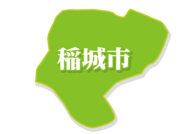 稲城市地図イメージ