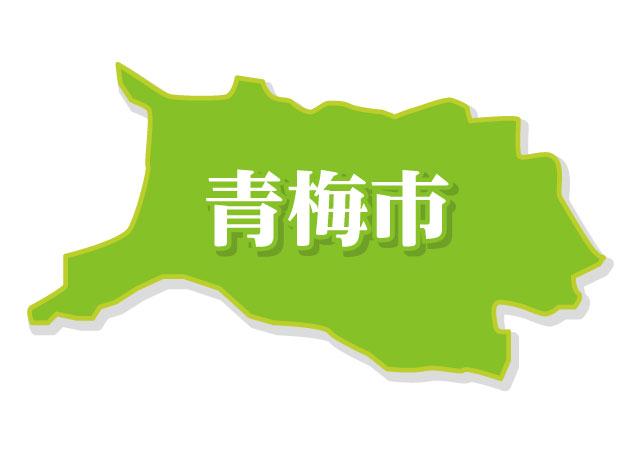 青梅市地図イメージ