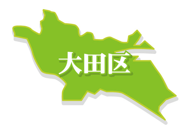 大田区地図イメージ
